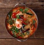 Tum Yum Kung, comida tailandesa Imágenes de archivo libres de regalías