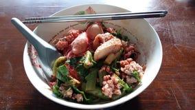 Tum Yum Noodle Foto de archivo