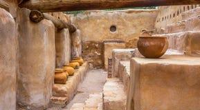 Tumacacori Nationaal Historisch Monument Arizona Royalty-vrije Stock Foto's
