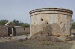 Tumacacori parkerar nationellt historiskt arkivfoto