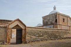 Tumacacori parkerar nationellt historiskt royaltyfri fotografi