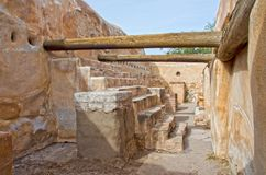 Tumacacori parkerar nationellt historiskt royaltyfri foto