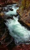 Tumalo cai Oregon Foto de Stock Royalty Free