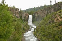 Tumalo Falls Royalty Free Stock Photo