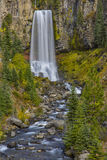 Tumalo Falls  in the Fall Stock Photo