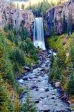 Tumalo vattenfall Royaltyfri Fotografi