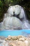 Tumalog瀑布在宿务 免版税库存照片