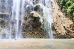 Tumalog waterfalls in Oslob, Philippines Stock Photo