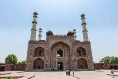 Tumba de Akbar el grande Fotografía de archivo libre de regalías