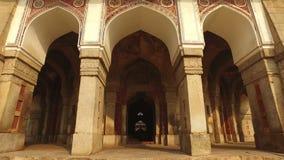 Tumba de Ali Isa Khan - la India almacen de metraje de vídeo