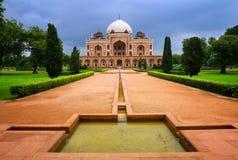 Tumba de Humayun en Nueva Deli, la India foto de archivo libre de regalías
