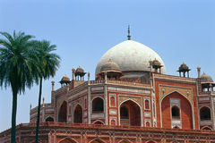 Tumba de Humayun, la India - #1 Imagen de archivo