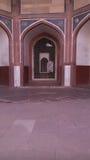 Tumba de Humayuns en Delhi, la India imágenes de archivo libres de regalías