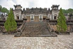 Tumba de Khai Dinh imagen de archivo libre de regalías