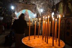 Tumba de la Virgen María fotos de archivo libres de regalías