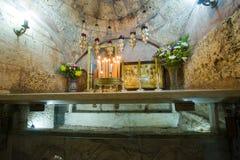 Tumba de la Virgen María Imagenes de archivo