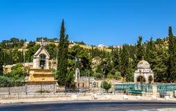 Tumba de la Virgen María en Jerusalén Imagen de archivo libre de regalías