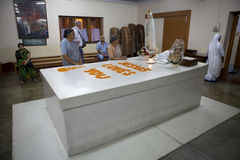 Tumba de madre Teresa, Kolkata, la India Imagen de archivo