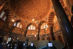 Tumba de Magnificient Suleiman Fotografía de archivo