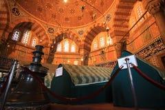 Tumba de Magnificient Suleiman Imagen de archivo libre de regalías