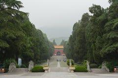 Tumba de Ming Fotos de archivo