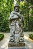 Tumba de Ming Xiaoling en Nanjing China Foto de archivo