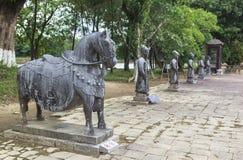 Tumba de Minh Mang King en tonalidad, Vietnam Foto de archivo libre de regalías