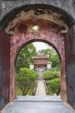 Tumba de Minh Mang King en tonalidad, Vietnam Imagenes de archivo