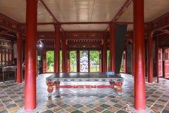 Tumba de Minh Mang King en tonalidad, Vietnam Fotografía de archivo