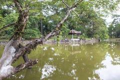 Tumba de Minh Mang King en tonalidad, Vietnam Fotos de archivo