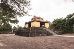 Tumba de Minh Mang King en tonalidad, Vietnam Imagen de archivo