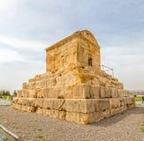 Tumba de Pasargad Cyrus imagen de archivo libre de regalías