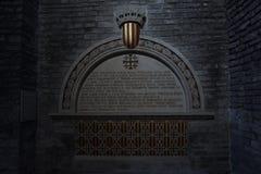 Tumba de Ramon Berenguer IV Imágenes de archivo libres de regalías
