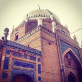 Tumba de Rukn Aalam del Sah en Multan Imagenes de archivo