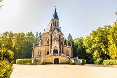 Tumba de Schwarzenberg - Trebon, República Checa Imagen de archivo