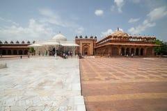 Tumba del complejo de Salim Chishti - de Fatehpur Sikri Foto de archivo