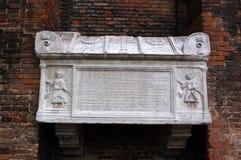 Tumba del dux, Venecia Imágenes de archivo libres de regalías