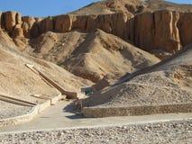 Tumba del pharaon Imágenes de archivo libres de regalías