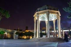 Tumba del poeta Hafez en Shiraz Imagen de archivo