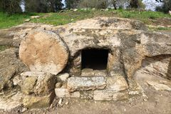 Tumba del ` s de Cristo fotos de archivo