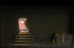 Tumba del ` s de Jesús fotografía de archivo