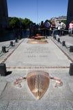 Tumba del soldado desconocido, Arc de Triomphe París Fotos de archivo libres de regalías