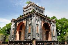 Tumba del Tu Duc en Vietnam cerca de la ciudad de la tonalidad fotos de archivo libres de regalías