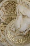 Tumba famosa de Ruben Darion Imagenes de archivo