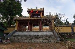 Tumba imperial de Dong Khanh en tonalidad fotografía de archivo libre de regalías