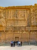 Tumba real de Persepolis Imagenes de archivo