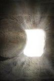 Tumba vacía de Jesús imágenes de archivo libres de regalías