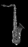 Tumbado Saxofon Στοκ Εικόνα