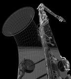 Tumbado Saxofon Стоковая Фотография