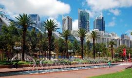 Tumbalong Park, Sydney, Australia Stock Photo